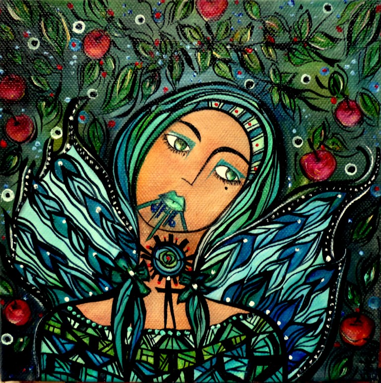 Wahine and The Falling Apples