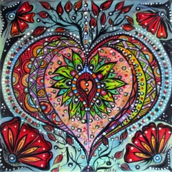 Blessed is this heart from where all Love grows