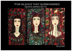 for silence they surrendered